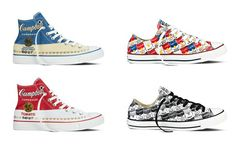 pretty nice 07fde cdc75 The spring 2015 Converse All Star Andy Warhol Collection in partnership  with The Andy Warhol Foundation will hit stores on February