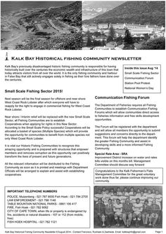 August 2014 Newsletter page 1