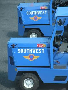 Southwest Airlines Tugs