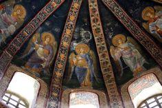 Istanbul. Sant Salvador de Cora. Cúpula (detall)