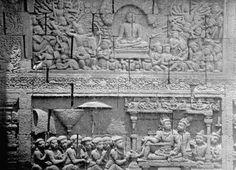Amazing Story of  Borobudur Temple Reliefs Karmawibangga