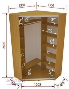 Corner closet design decor new ideas Bedroom Closet Design, Bedroom Wardrobe, Closet Designs, School Locker Storage, Handmade Furniture, Diy Furniture, Dressing Design, Corner Closet, Bedroom Cupboards