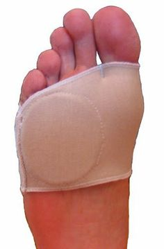Metatarsal Sleeve - Left Foot by FlexaMed. $8.95. FlexaMed Metatarsal Sleeve for relief from Morton's neuroma, metatarsalgia, calluses, sesamoiditis and other forefoot (ball-of-foot) problems. An extra-soft and breathable gel pad absorbs pressure, shock and friction to cushion and protect your foot. Flexible, durable cotton/Lycra blend won't slip off and thin design easily fits into dress or casual shoes.