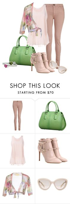 """Tulle Challenge"" by rubberchicken-queen ❤ liked on Polyvore featuring dVb Victoria Beckham, Chloé, Valentino, EAN 13 and Prada"