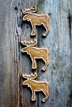 Christmas Reindeer Cookies.