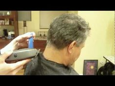 Mens Clipper Cut: Clipper Over Comb: Hair Tutorial Thin Hair Haircuts, Boy Hairstyles, Haircuts For Men, Short Grey Hair, Short Hair Cuts, Mens Clipper Cuts, Emergency Room, Haircut Tip, Hair Cutting Techniques