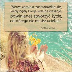 Może zamiast zastanawiać się... - WielkieSłowa.pl Simple Life Quotes, Quotes Deep Feelings, Sad, Wattpad, Blog, Quotes, Blogging