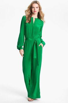 Love this: Silk Jumpsuit @Lyst