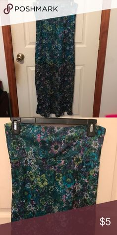 🎯Maxi skirt🎯 Size small. Top layer is sheer with a solid layer underneath. Only worn once. No Boundaries Skirts Maxi
