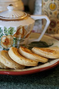 Tea, crumpets and a chat . Tea And Crumpets, Sandwiches, Autumn Tea, Mourning Dove, English Style, English Manor, English Countryside, Tea Cakes, High Tea