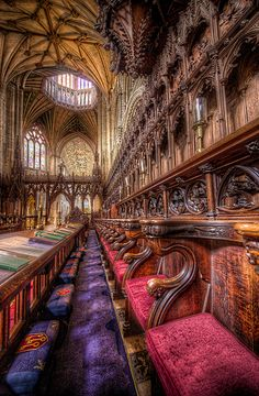 A colourful choirboy's life. the colour version of my previous black and white upload. The colours in the image are real and have not been manipulated, what a groovy Cathedral! Learn HDR for yourself on my website here http://hdrprocessing.com/  #HDR