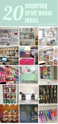 20 inspiring craft room ideas from #hometalk! (scheduled via http://www.tailwindapp.com?utm_source=pinterest&utm_medium=twpin&utm_content=post1595297&utm_campaign=scheduler_attribution)
