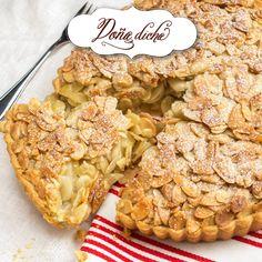 Pie de manzana almendrado 2