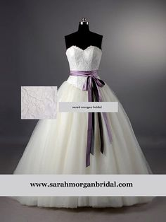 Couture  bridal ballgown wedding dress  in  by SarahMorganBridal, £499.00