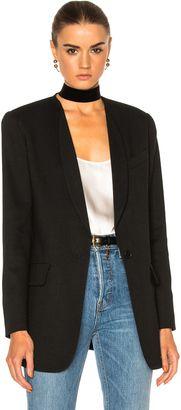 Shop Now - >  https://api.shopstyle.com/action/apiVisitRetailer?id=636846840&pid=uid6996-25233114-59 Smythe Skinny Lapel Blazer Jacket  ...