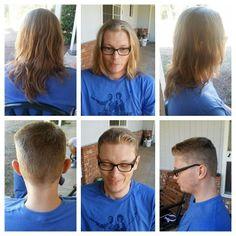 Fresh hair cut