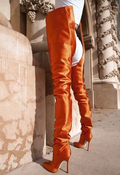 Vetements x Champion Hoodie, Vetements x Champion Sweat Pants, Manolo Blahnik x Vetements Satin Boots xo Thigh High Boots, High Heel Boots, Heeled Boots, Shoe Boots, High Heels, Stiletto Boots, Red Boots, Jeans And Boots, Crotch Boots