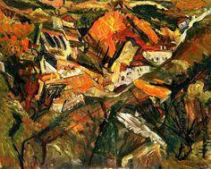 Céret Landscape  Chaim Soutine- circa 1919