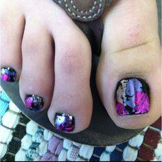Metallic toes Hang10