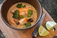 Thai Coconut Soup (Tom Kha) Stupid Easy Paleo - Easy Paleo Recipes to Help You Just Eat Real Food