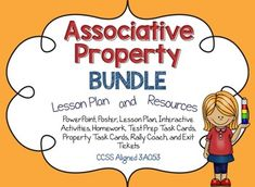 Associative Property of Multiplication Lesson Plan and Resources: CCSS Associative Property, Properties Of Multiplication, Fourth Grade Math, Core Collection, Interactive Activities, Too Cool For School, Common Core Standards, Test Prep, Elementary Math