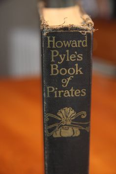 Vintage Children's Book Pirates Howard Pyle's Book of by RyanRose