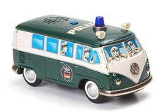Tin Toy VW T1 Polizei Bus