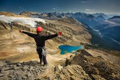 This mountaineer is discovering the magic of Yoho National Park by Paul Zizka