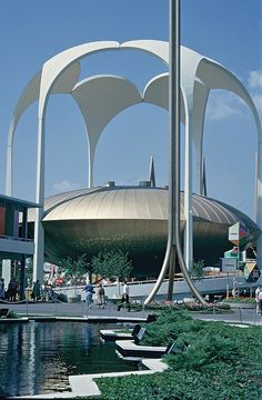 000011 New York World Fair 1964-1965 - Johnson Wax Pavilion by FotoSupplies, via Flickr