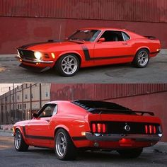 Mustang-Boss klassisch-auto-trad … … – North Brothers Ford – Join the world of pin Mustang Fastback, Mustang Mach 1, Ford Mustang Shelby, Mustang Cars, Shelby Gt500, Ford Mustangs, Muscle Cars Vintage, Old School Muscle Cars, Classic Mustang