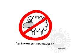 All Humans Are Entrepreneurs