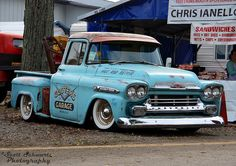 """1959 Chevy Apache """"Cooters Garage"""" 