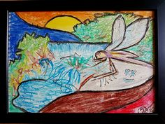 Michal Tejgi - pastelka / 29 x 21 cm / 700 Kč Online Galerie, Moose Art, National Parks, Gallery, Artwork, Painting, Animals, Art Work, Animales