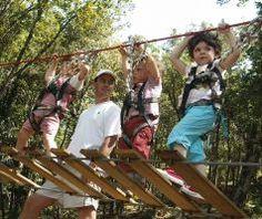La Forêt des Ecureuils Adventure park in the trees, 60km from L'Ancienne Ecole, our self catering holiday accomodation in Beaumont du Périgord near Bergerac, in Dordogne, FRANCE #france##dordogne##sarlat##beaumontduperigord##familyfun##adventurepark#