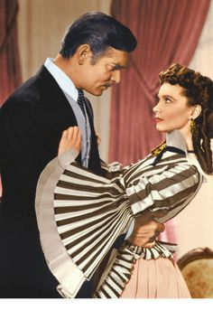 """You need kissing badly. That's what's wrong with you. You should be kissed often, and by someone who knows how."" —Clark Gable, Gone With The Wind 