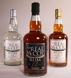 Davos Brands has recently picked up The Real McCoy authentic Barbados rum for expanded sales, distribution and marketing thoroughout the United States.