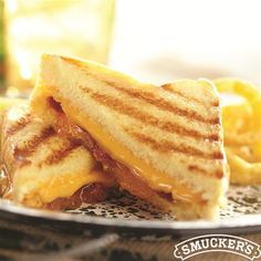 Peachy Bacon Grilled Cheese on Texas Toast from Smucker's®