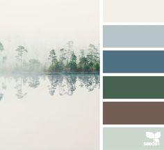 Peaceful colours
