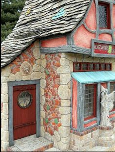 Witch and Wizard Miniatures: Wizard Shop by Dennis Nordman..