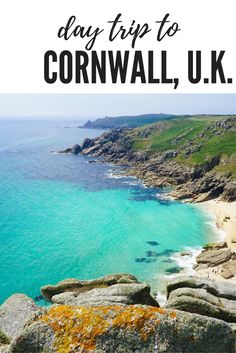 Cornwall England. Looking for things to do on a Cornwall Day Trip? Or just want to relax at the Cornwall Beach. Check out my best tips of deserted beaches, coastal walk, picturesque mines and more! Click through to read more and a guide to visiting  ☆☆Brought to You via #Inspiredbymaps ☆☆
