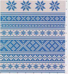 Жаккард – 43 фотографии Knitting Charts, Knitting Stitches, Knitting Patterns, Crochet Patterns, Hippie Crochet, Knit Crochet, Crochet Skirts, Embroidery Patterns, Stitch Patterns