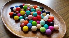 100 x 15mm Silicone Beads Silicone Teething by MyNaturalBabyAU