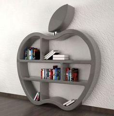 12 Minimalist Storage For Cool Living Rooms Design Ideas – Room Design Creative Bookshelves, Bookshelf Design, Wall Shelves Design, Storage Design, Home Design Decor, Diy Home Decor, House Design, Design Ideas, Living Room Designs