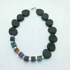 Statetment necklace - LALOU Beaded Necklace, Beaded Bracelets, Jewelry, Fashion, Beaded Collar, Moda, Jewlery, Pearl Necklace, Jewerly