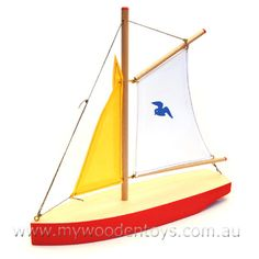 wooden toy sailboat - Google Search
