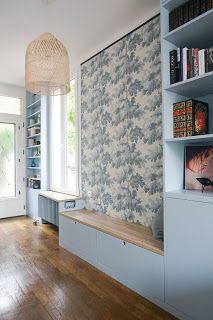 - Ikea DIY - The best IKEA hacks all in one place Ikea Closet, Small Fireplace, Kitchen Wallpaper, Open Kitchen, Kitchen Living, Best Interior, Custom Furniture, Canopy, Sweet Home