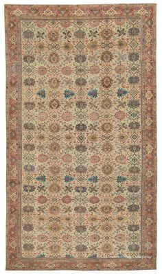 SULTANABAD - West Central Persian 9ft 0in x 15ft 11in Circa 1850