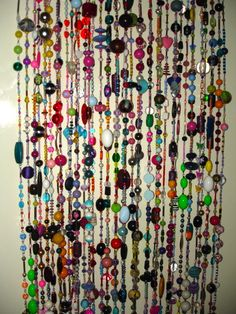 Beaded Curtains By Rachel Van Gompel...always Wanted One.. But Not