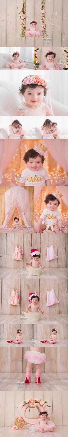 Girly baby portrait inspiration by Boston baby photography Heidi Hope