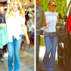 Paige premium denim!! This pair of Paige premium denim jeans can be seen as picture worn by Kristin Cavallari and Nicole Richie. This pair of Paige jeans are in great condition.. Only wear marks on them are on the very bottom of jeans as seen in the photo I have posted. They are Paige premium denim- laurel canyon. They are Paige's traditional low rise boot cut fit. Paige Jeans Jeans